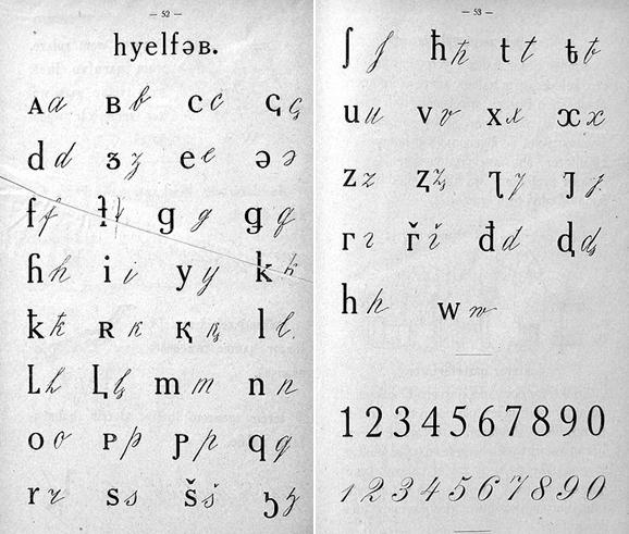 Адыгейский алфавит на основе латиницы (1927—1938 годы)