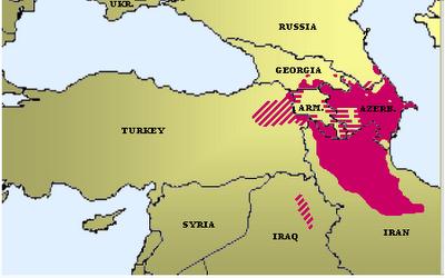 азербайджанский язык - ареал распространения азербайджанского языка