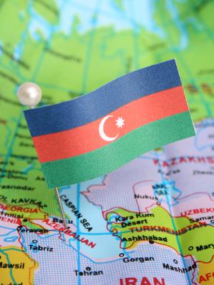 азербайджанский флаг