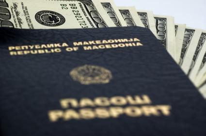 паспорт, македонский язык