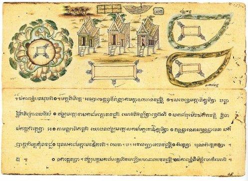 манускрипт, тайский язык