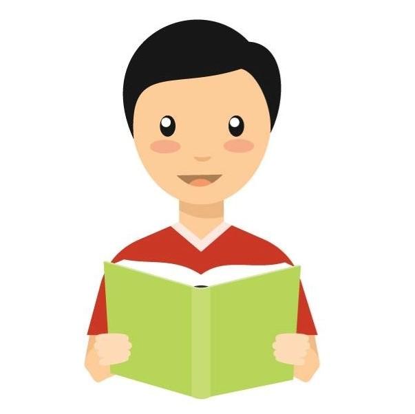 Иностранец с книгой