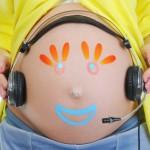 Изучение языка начинается в утробе матери