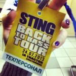 Sting. Back to Bass Tour в Челябинске при участии бюро переводов «Прима Виста»