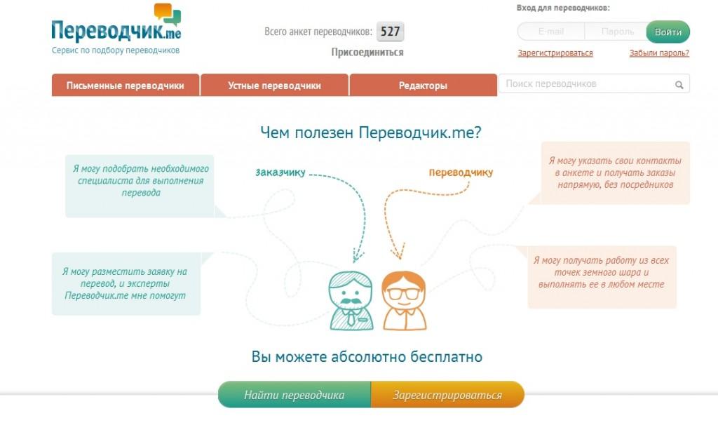 Новый проект «Прима Висты» — биржа переводчиков