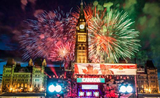 Новый год в Канаде