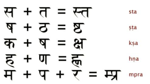 Письменность санскрита