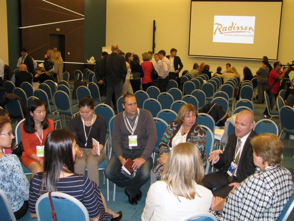 Обсуждение на конференции переводчиков