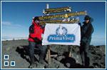 Флаг агентства переводов на Килиманджаро